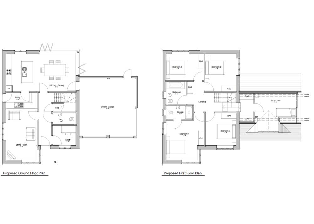 Ground Floor -Plot 4 & 5