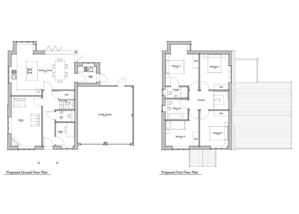Floor plan -Plot 5