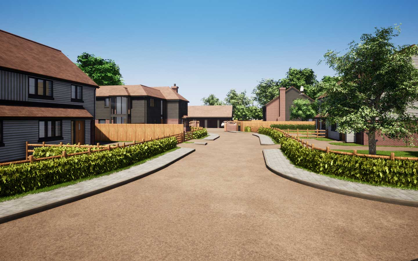 The Orchard, Goose Farm by Woodchurch Property
