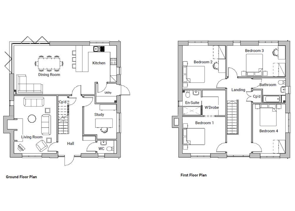 Floor Plan - Type a